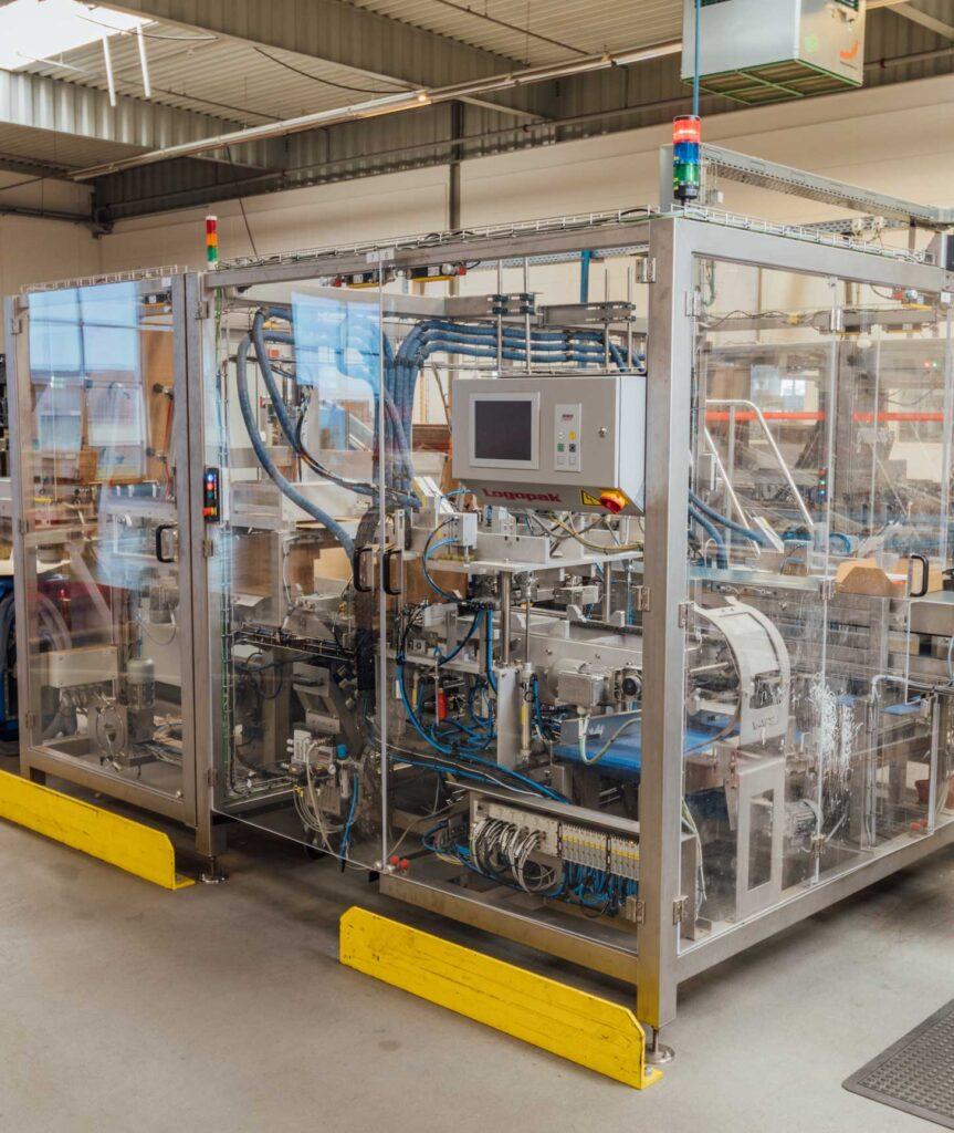 Hochleistungsverpackungsmaschine für E-Commerce-Produkte